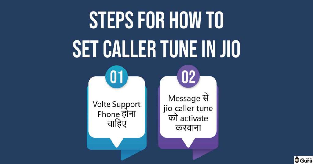 Steps For How to Set Caller Tune in Jio